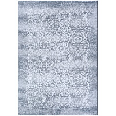 Orianna Slate Blue/Pearl Area Rug Rug Size: Rectangle 311 x 56