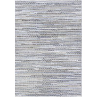 Heinen Taupe/Champagne Indoor/Outdoor Area Rug Rug Size: Rectangle 53 x 76