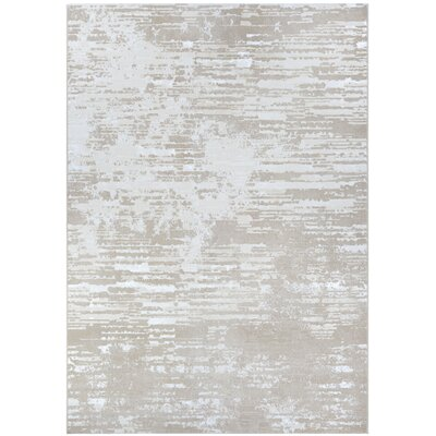 Driggers Champagne Area Rug Rug Size: Rectangle 92 x 129