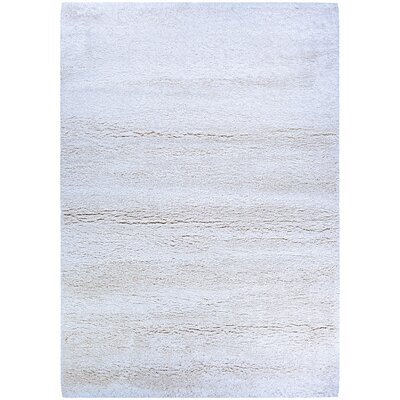 Risinger White Area Rug Rug Size: Rectangle 92 x 123