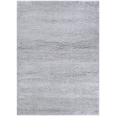 Risinger Light Gray Area Rug Rug Size: Rectangle 53 x 76