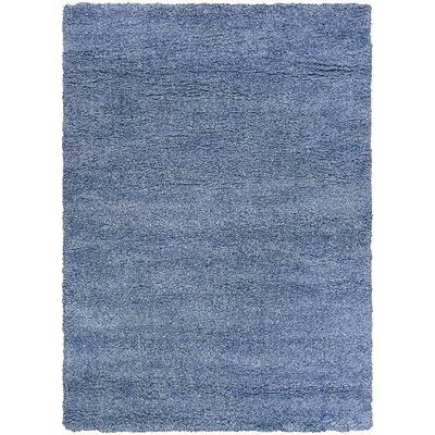 Risinger Light Blue Area Rug Rug Size: Rectangle 92 x 123