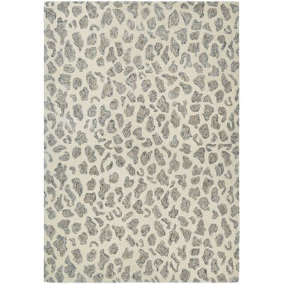 Noell Hand-Woven Wool Natural Area Rug Rug Size: Rectangle 36 x 56