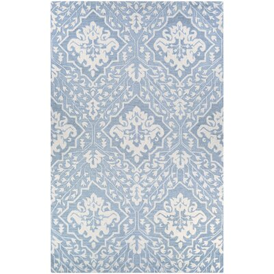 Fairgrove Contempo Garden Hand-Woven Pewter Area Rug Rug Size: Rectangle 35 x 55