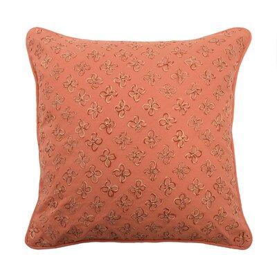 Laurel Springs Applique 100% Cotton Throw Pillow