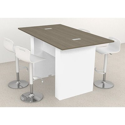 Laub 72 W Training Table Finish: Baroque Laminate