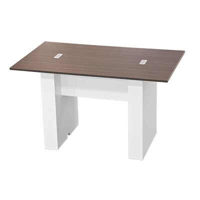 Laub 72 W Training Table Finish: Burma Cherry Laminate