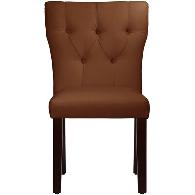 Merryman Tufted Hourglass Upholstered Dining Chair