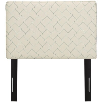 Patchway Box Seam Upholstered Panel Headboard Size: Queen, Upholstery: Sugar Snap