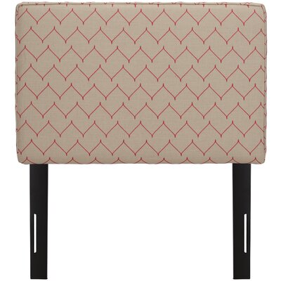 Patchway Box Seam Upholstered Panel Headboard Size: Queen, Upholstery: Rosario