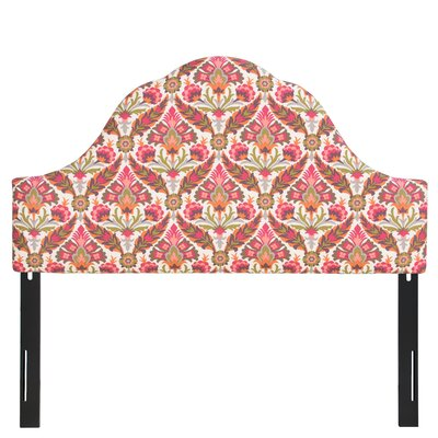 Ohearn Arched Upholstered Panel Headboard Size: Twin