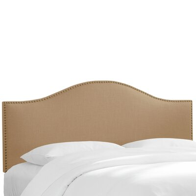 Franz Upholstered Panel Headboard Size: California King