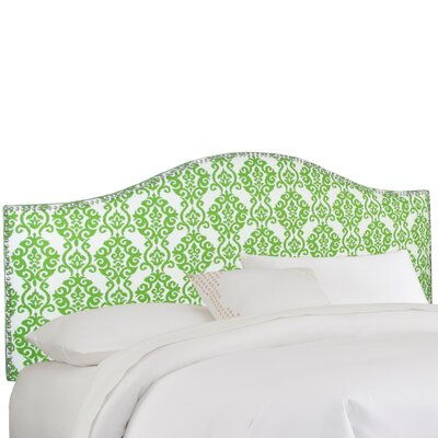 Overman Upholstered Panel Headboard Size: King