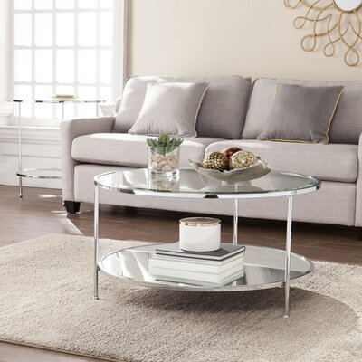 Depaz Coffee Table Finish: Chrome