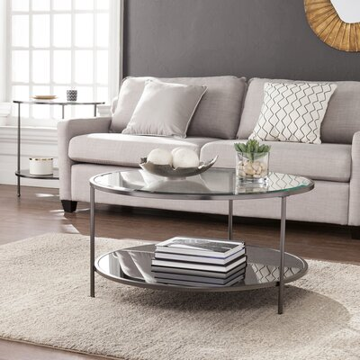 Depaz Coffee Table Finish: Black