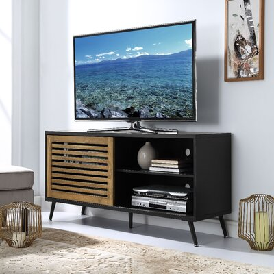 Mcquillen 52 TV Stand Color: Black