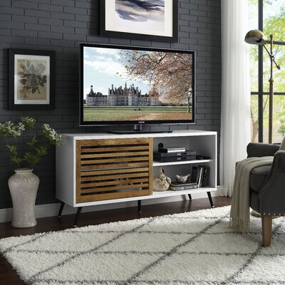 Mcquillen 52 TV Stand Color: White