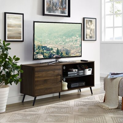 Meade 52 TV Stand Color: Dark Walnut