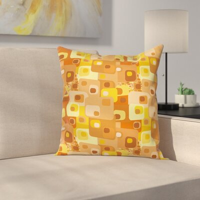 Pillow Cover with Zipper Size: 24 x 24