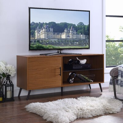 Meade 52 TV Stand Color: Pecan