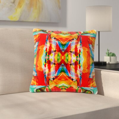 Matthias Hennig Motley Outdoor Throw Pillow Size: 18 H x 18 W x 5 D