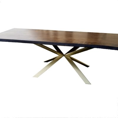 Kronos Solid Wood Live Edge Dining Table