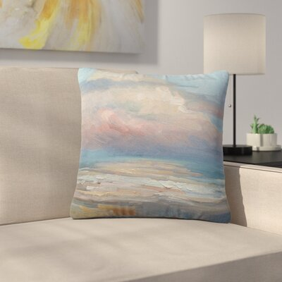 Carol Schiff Clouds Outdoor Throw Pillow Size: 18 H x 18 W x 5 D
