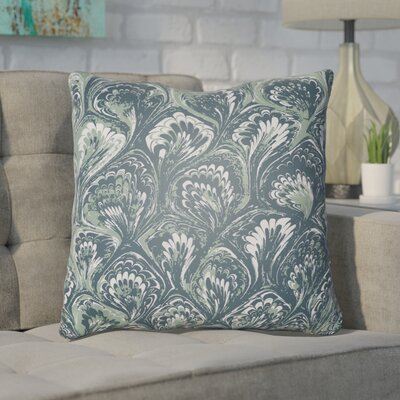 Maidstone Throw Pillow Size: 22 H�x 22 W x 5 D, Color: Teal