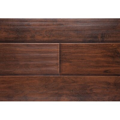 6 x 48 x 12mm Laminate Flooring in Nightfall Hickory