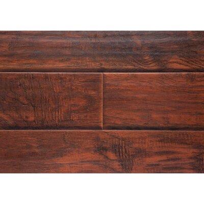 6 x 48 x 12mm Laminate Flooring in Midnight Hickory