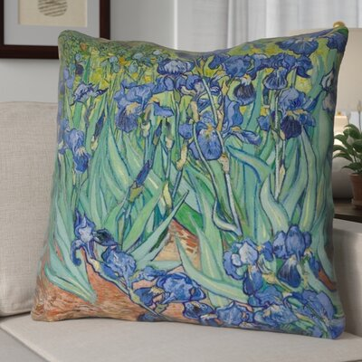 Morley Double Sided Irises Throw Pillow