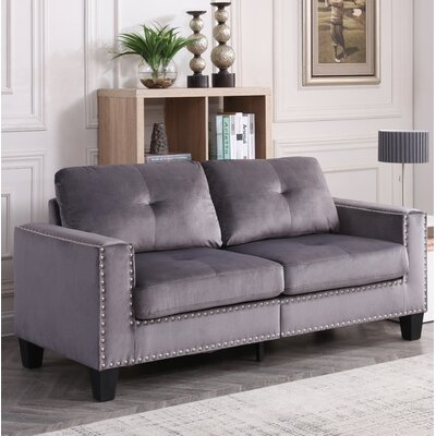 Caceres Sofa Upholstery: Gray