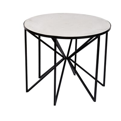 Cofer Butterfly Coffee Table Table Base Color: Black
