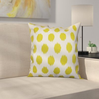 Pursel Cotton Throw Pillow Color: Artist Green, Size: 20 H x 20 W