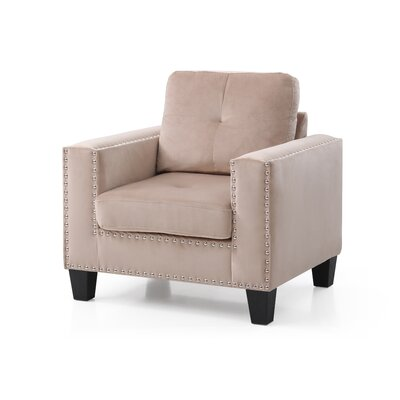 Caceres Armchair Upholstery: Tan