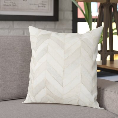 Altoona Throw Pillow Color: Multi  /  White, Size: 22 H x 22 W