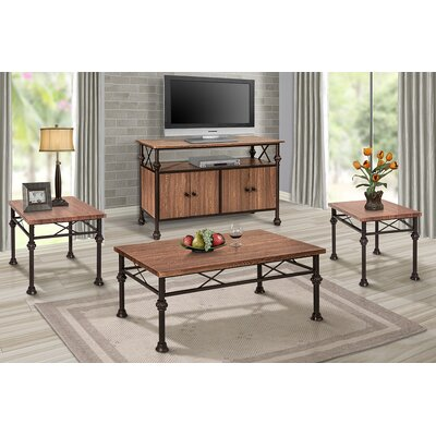Hickmon 4 Piece Coffee Table Set