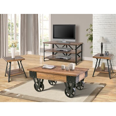 Czerwinski 4 Piece Coffee Table Set