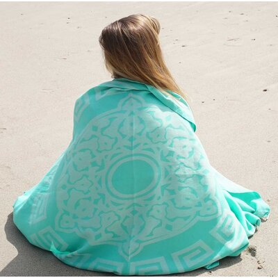 Feliciano Beach Towel Color: Aqua