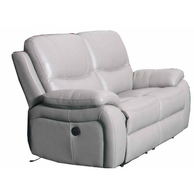 Durante Loveseat Power Recliner Color: White