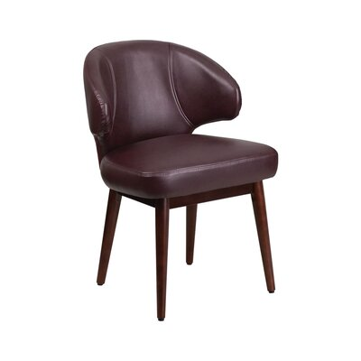 Creager Comfort Back Series Leather Guest Chair