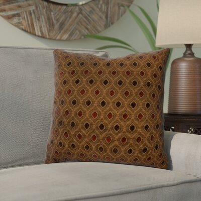Audwine Throw Pillow Color: Cocoa