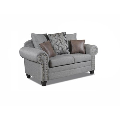 Mandros Loveseat Upholstery : Motley Mineral