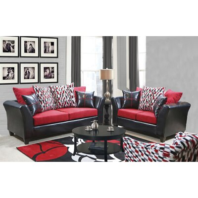 Forese 2 Piece Living Room Set