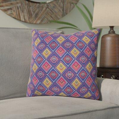 Igourdane Diamond Stitch Outdoor Throw Pillow Size: 18 H x 18 W x 5 D