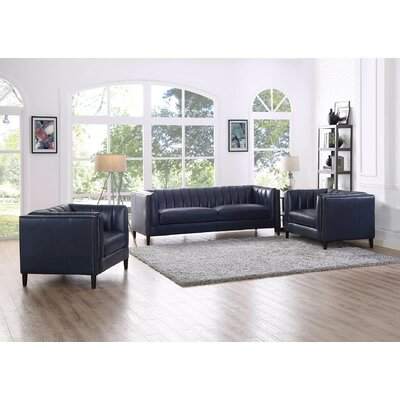 Dierking 3 Piece Living Room Set