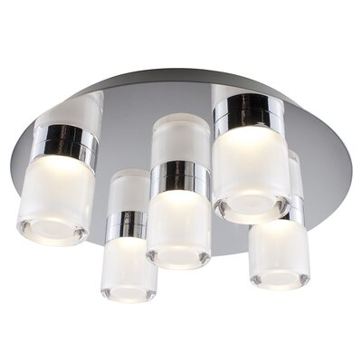 Pedersen Round 5-Light Flush Mount