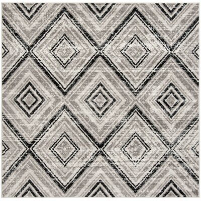 Coghill Gray Area Rug Rug Size: Square 67