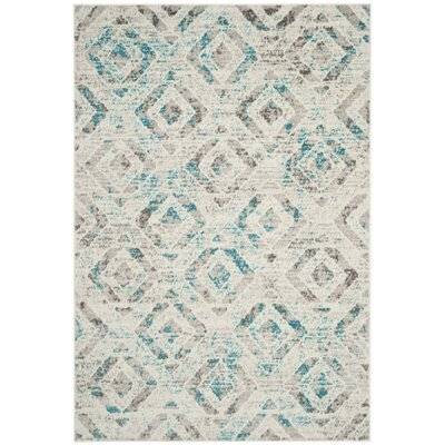 Cohan Ivory Area Rug Rug Size: Rectangle 4' x 6'