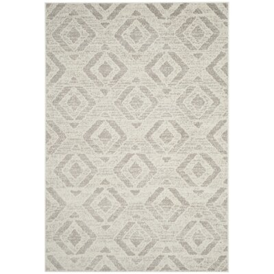Cohan Ivory Area Rug Rug Size: Rectangle 4 x 6